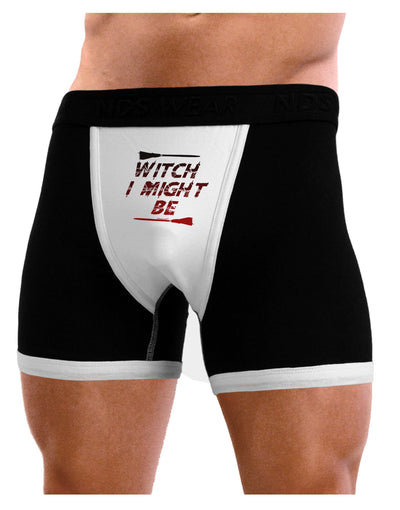 Witch I Might Be Mens Boxer Brief Underwear by TooLoud