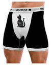 My Cat Is My Valentine Mens Boxer Brief Underwear by TooLoud