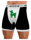 Cute Red and Green Rudolph - Christmas Mens Boxer Brief Underwear by TooLoud
