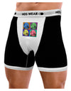 Three Wolves Howling - Pop-Art #2 Mens Boxer Brief Underwear by TooLoud