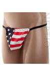 American Flag Stars and Stripes G-String