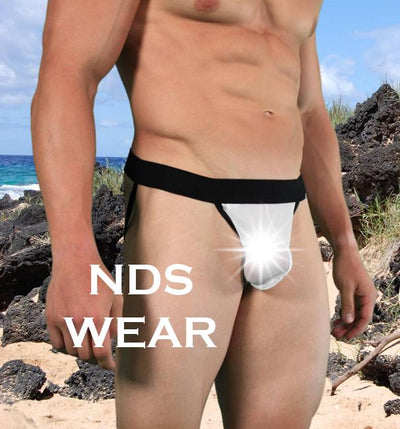 See through Contrast Mesh Net Jockstrap - Clearance