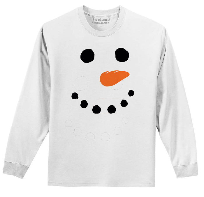 Long Sleeve Snowman T-shirt