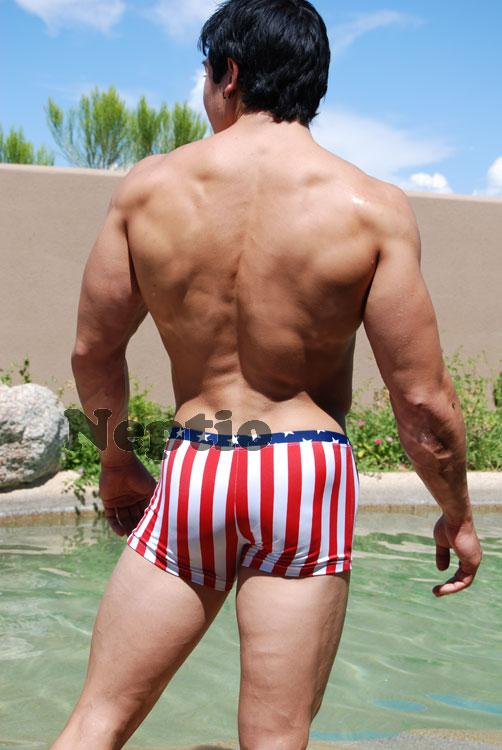 Full cut swim brief starwear.us, bathing suits American Made 6 colors available Hydrus Contoured Front