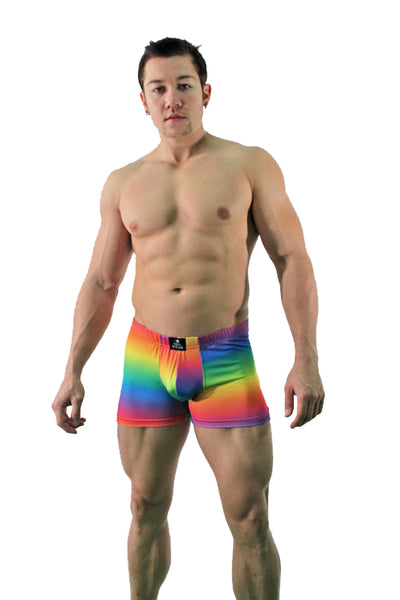 Rainbow Trunk for Men - Pride shorts