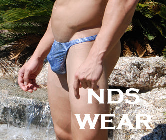 Men's Blue Sparkle Thong