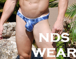 Men's Blue Sparkle Bikini