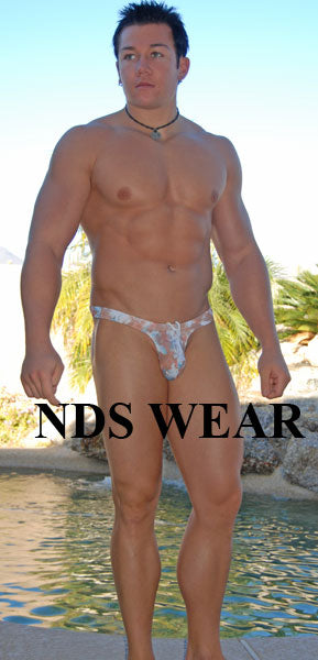 NDS Hibiscus Thong Swimsuit