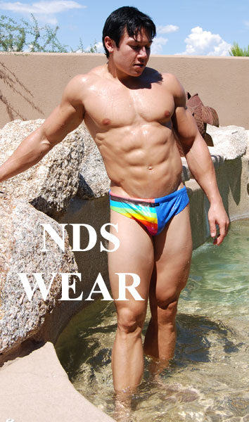 Men's Swimsuit New Rainbow Bikini