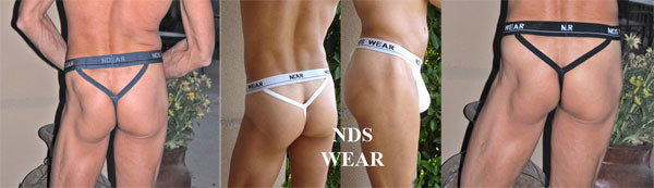 NDS Wear Men's Y-Back Thong