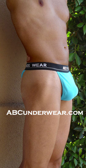 Aqua Blue Y-Back Mens Thong