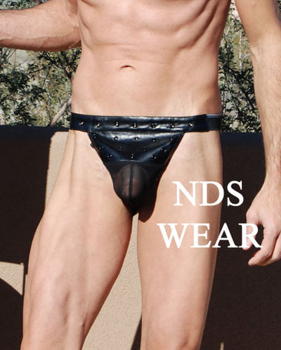 Jockstrap Pleather Net Closeout