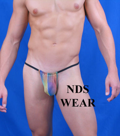 Sheer Rainbow G-String