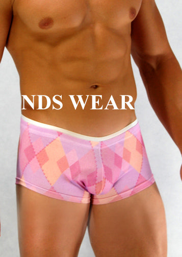 Men's Pink Diamond Short