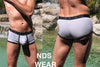 NDS Wear Silver Contrast Shorty
