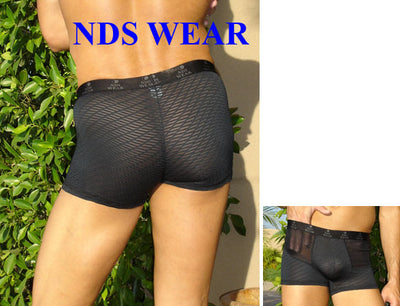Black Mesh Mens Short - Clearance