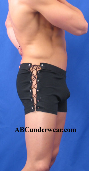 NDS Wear Side Lace-up Black Short