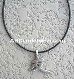 Good Luck Pewter Necklace
