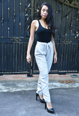 Casual Cropped Pants