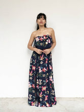 Lace Panelled Floral Maxi