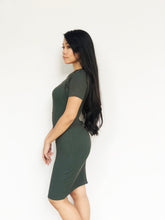 Basic Knitted Buttoned Dress