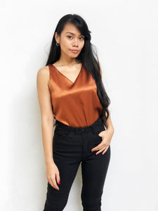 Metallic Sleeveless Top