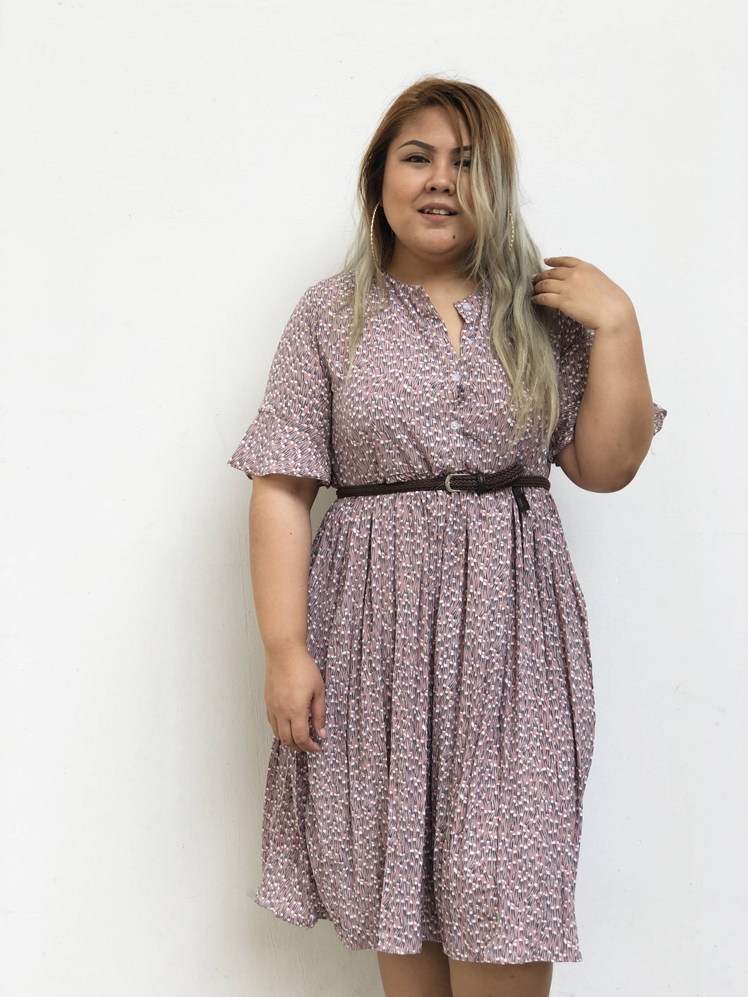 Pleated Summer Midi