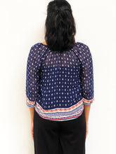 Patterned Tunic Blouse