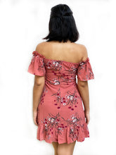 Floral Summer Bardot Dress