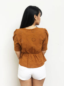 Cutwork Embroidery Top