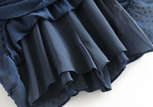 Knotted Tulle Waist-Tie Dress