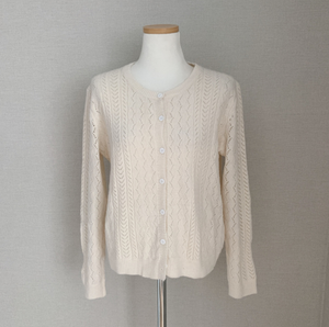 Knitted Cardigan Blouse