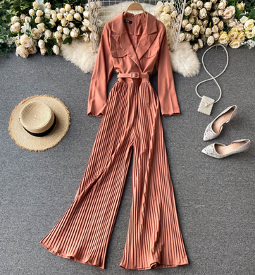 Basic Pleated Playsuit