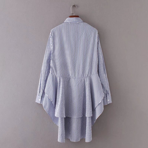 Pinstriped Dove-Tail Shirt