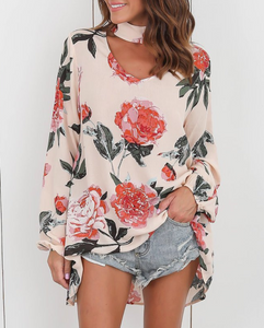 Choker Floral Top