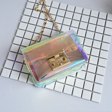 Laser Jelly Cross-Body Bag