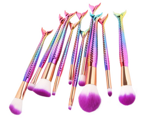 10pc Make-up Brushes Set (Set A)
