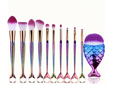 11pc Make-up Brushes Set (Set B)