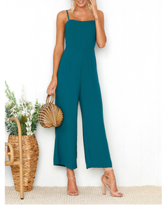 Teal Basic Jumpsuit