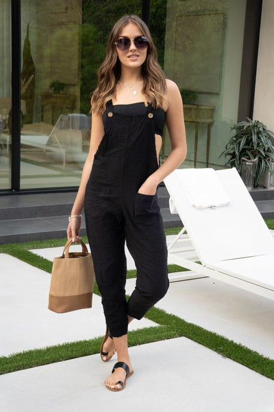 Comfy Crinkle Overall