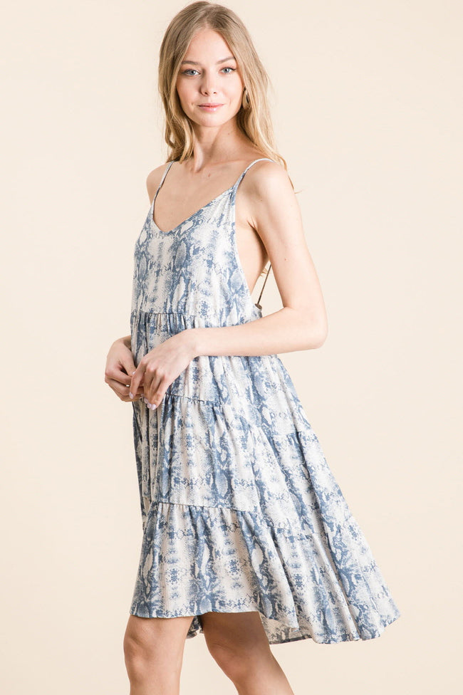 Cassia Ruffle Dress