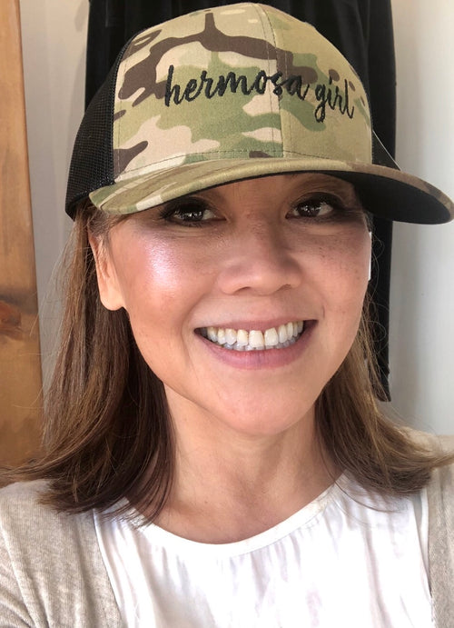 Hermosa Girl Camo Hat
