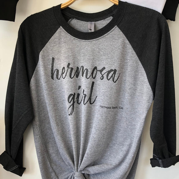 Hermosa Girl Baseball Tee