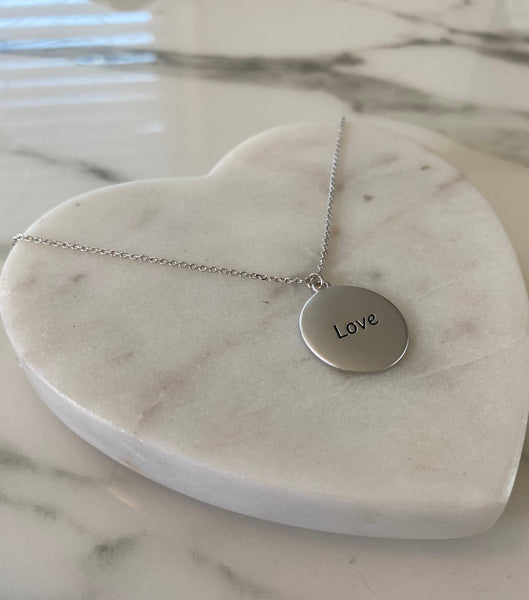Hermosa Girl Pendant Necklace