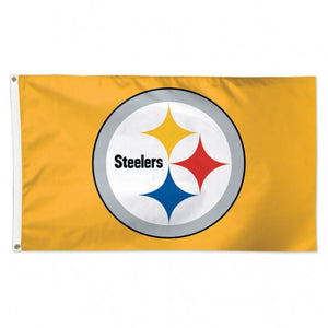 Pittsburgh Steelers Gold Flag
