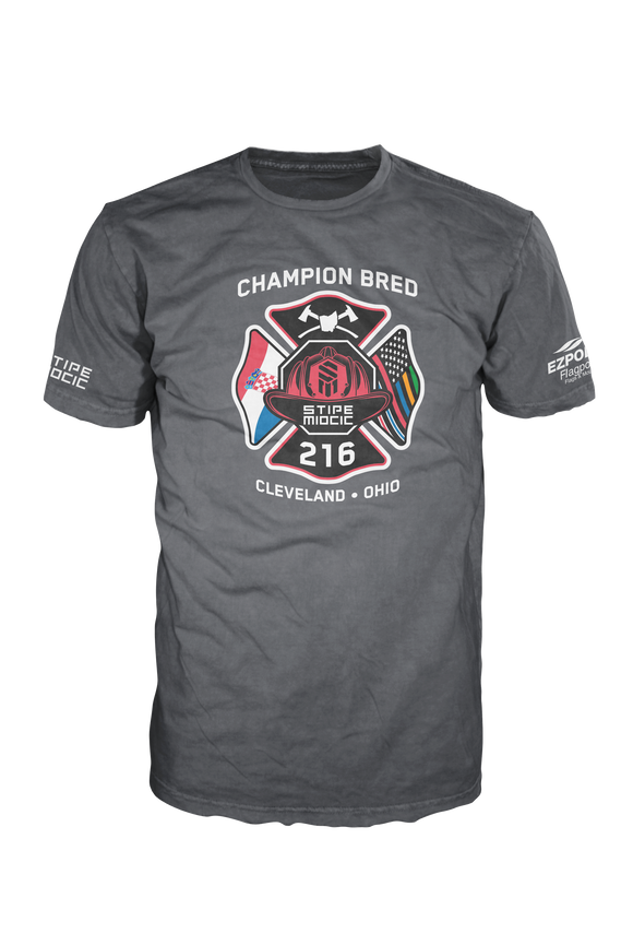 Heathered Charcoal Champion Bred T-Shirt