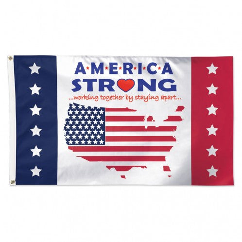 Patriotic America Strong Flag