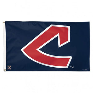 Cleveland Indians Cooperstown Block C Flag