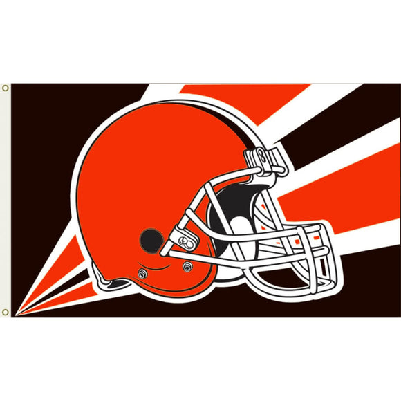 Cleveland Browns Helmet Flag