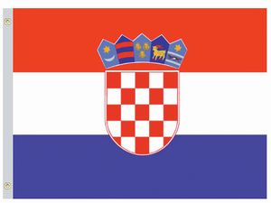 Croatia Flags - Nylon